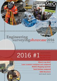 Engineering Surveying Showcase 2016 Issue 1
