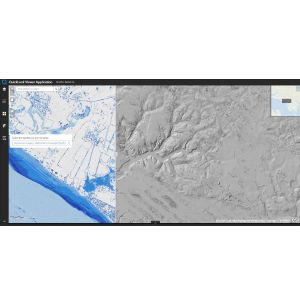 Web GIS Improves Lidar Collection Response Time